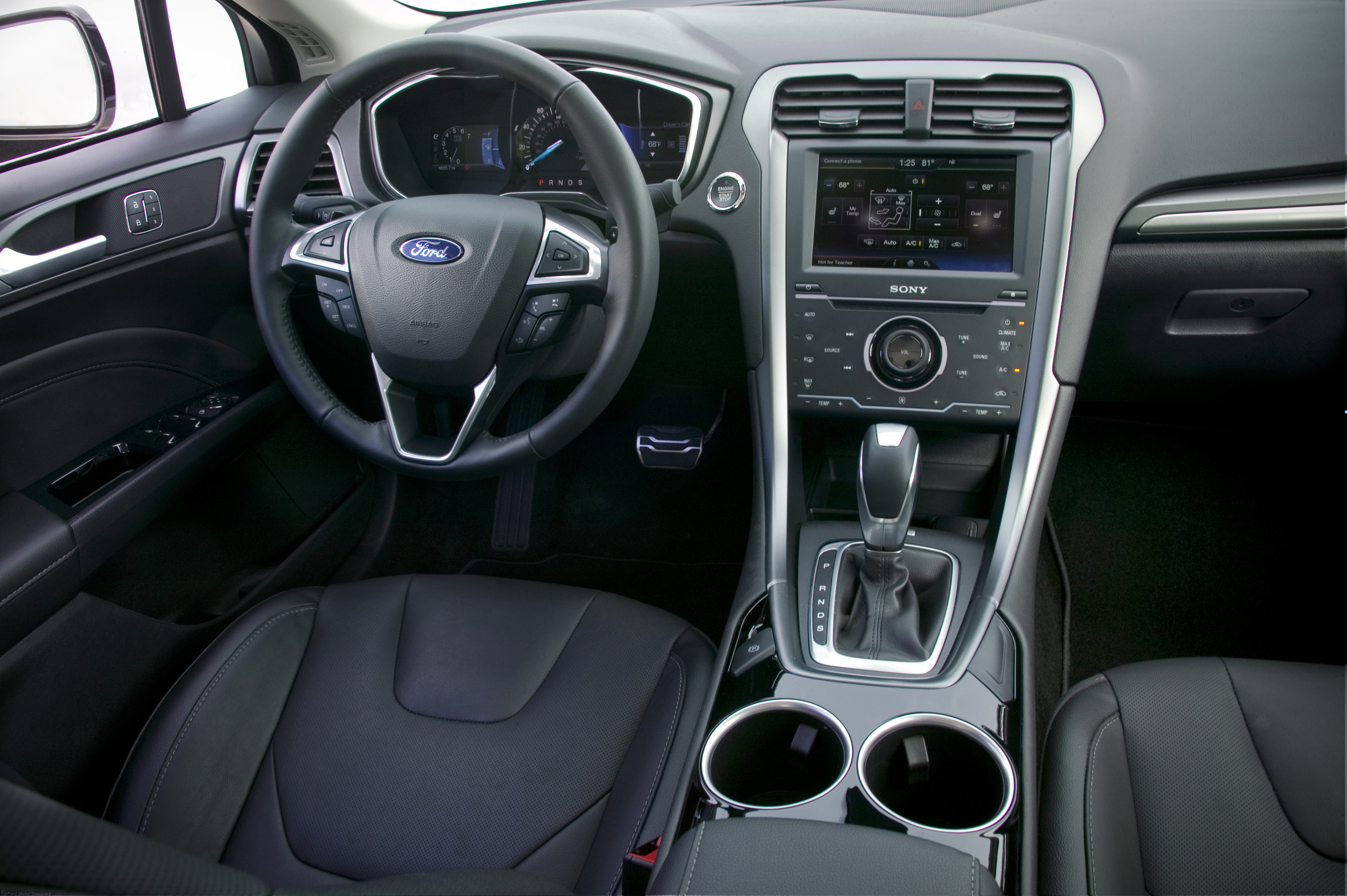 Ford Fusion Interior Nice Design