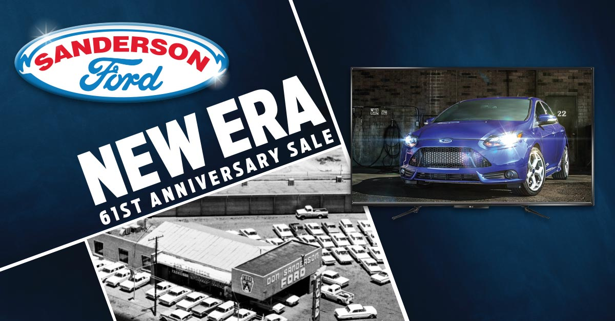 Sanderson Ford's 61st Anniversary