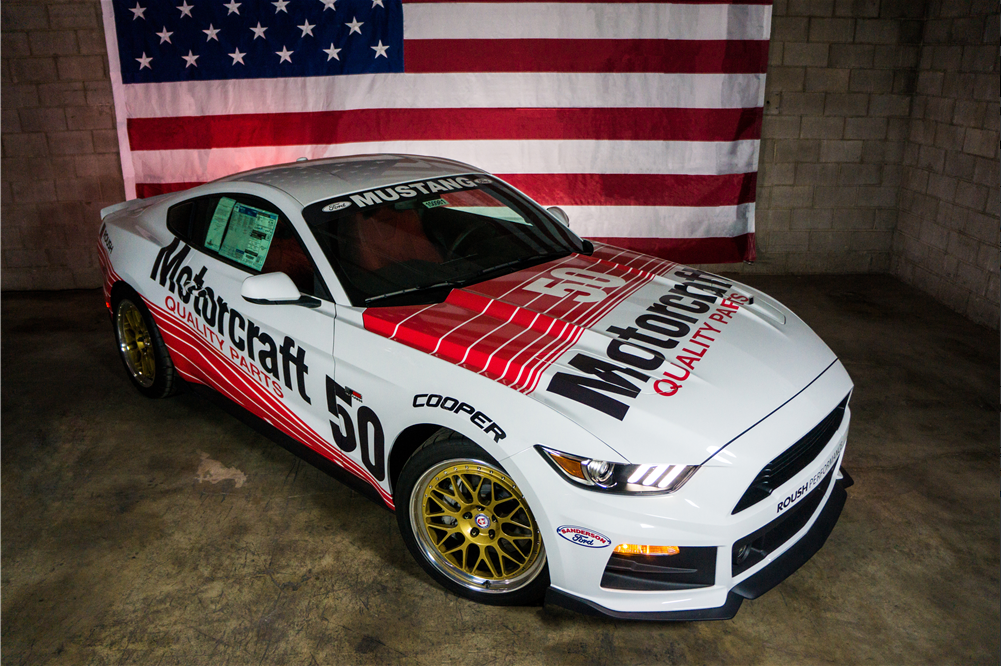 "2015 ""Jack Roush Tribute"" Mustang - Military Assistance Mission"